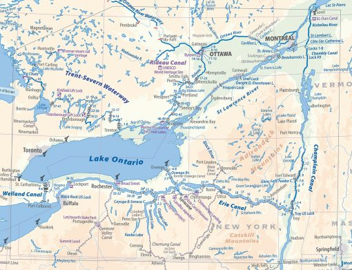 Erie Canal and Ontario waterways