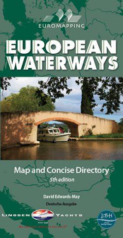 European Waterways Map & Directory