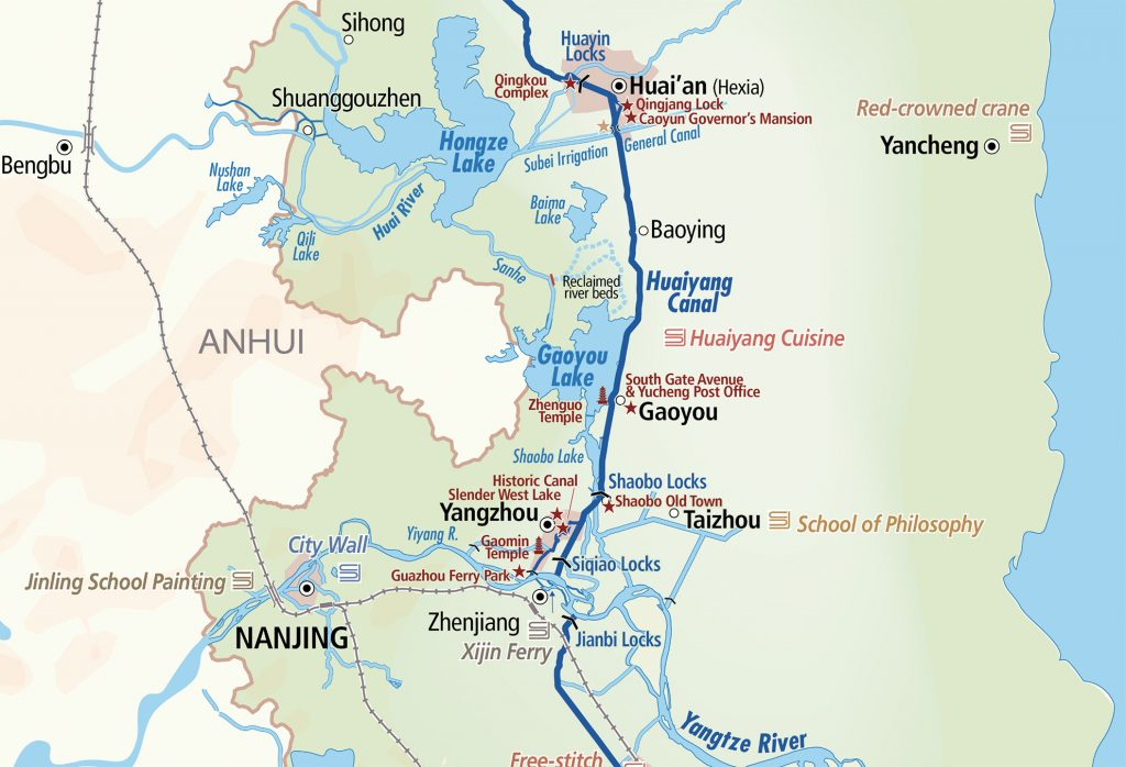 Grand Canal in Jiangsu Province