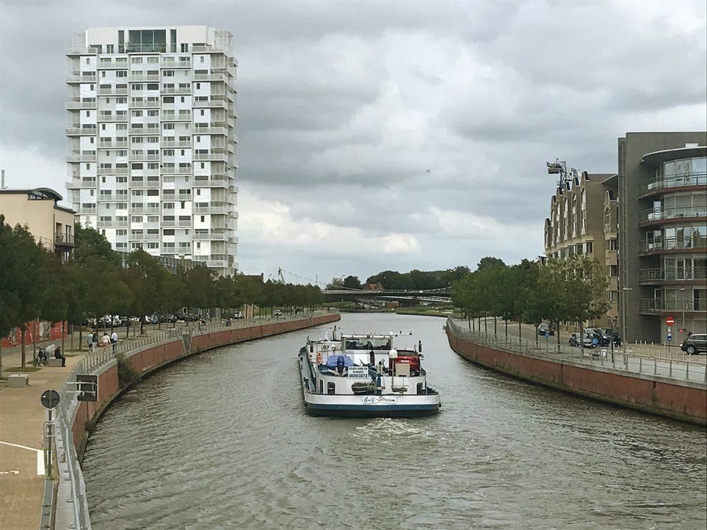 River Leie in Kortrijk